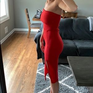Missguided Dresses - Missguided Red Dress NEW WITH TAGS